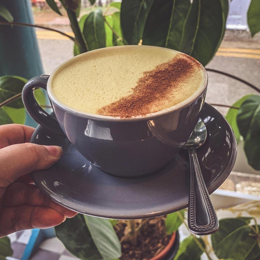 Turmeric Latte - Autumn Specials Drink