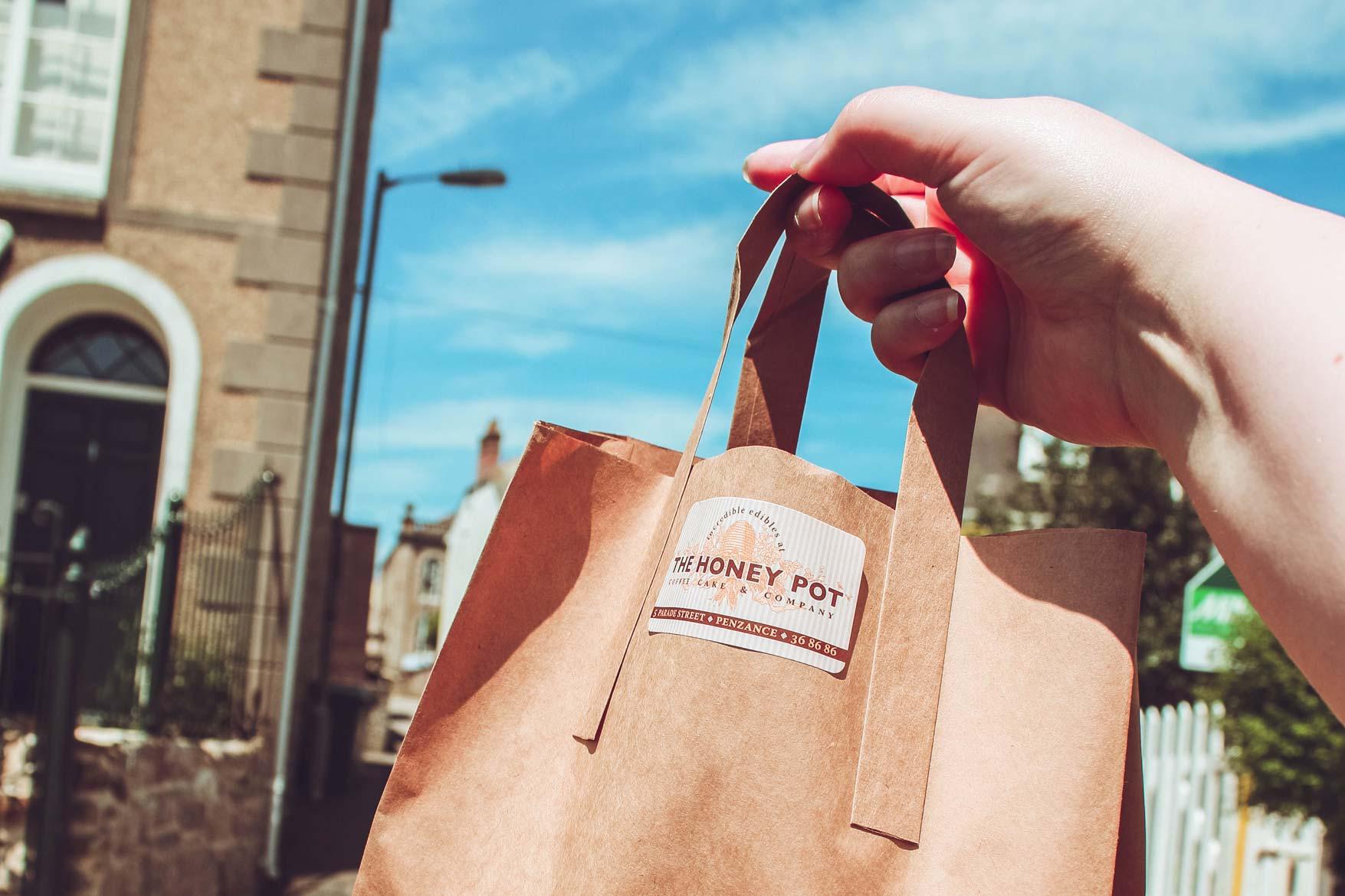 The Honey Pot Takeaway bag